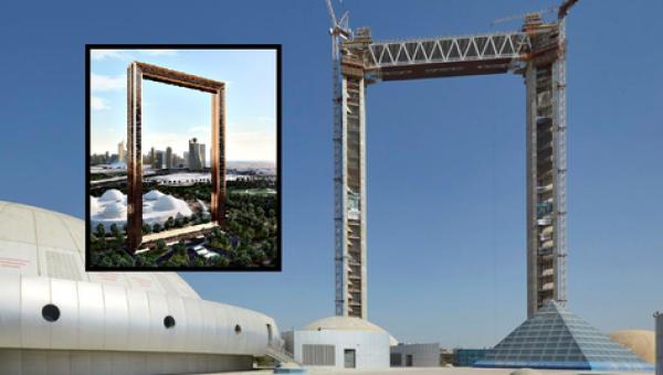 Edelstahl - Dubai Rahmen